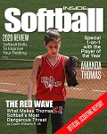Sports Magazine Cover - Inside Softball